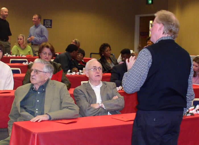 Three emeritus professors of psychology