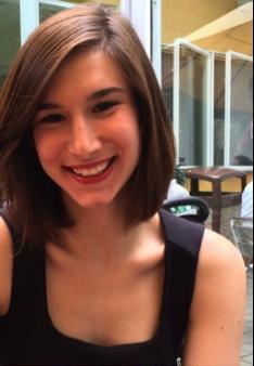 Student Christina Pierpaoli