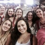 PGSA students at a UA football game