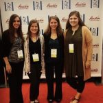 PGSA students participating in a conference